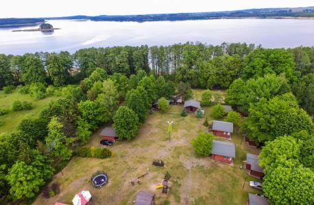 Ośrodek Sasek widok z drona